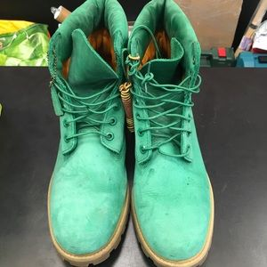 Timberland boots 11 1/2 leather 400 gram primaloft